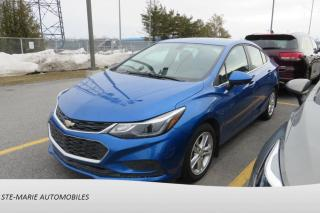 Used 2017 Chevrolet Cruze Mag Bluetooth for sale in St-Rémi, QC