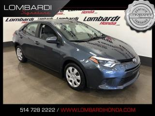 Used 2016 Toyota Corolla LE|AUTOMATIQUE|CAM| for sale in Montréal, QC