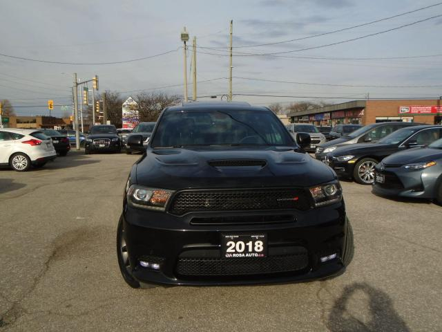 2018 Dodge Durango R/T AWD NAVIGATION NO ACCIDENT HEMI ROOF LEATHER T