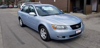 Used 2007 Hyundai Sonata Sunroof / Power Options for sale in Mississauga, ON