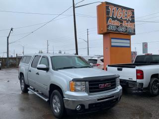 Used 2012 GMC Sierra 1500 SLE Z71 4X4**ONLY 157KMS**CREW CAB**TOPPER**CERT for sale in London, ON