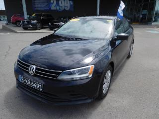 Used 2017 Volkswagen Jetta 1.4 TSI Man Trendline+,CAMERA,CAR PLAY,A/C,CRUISE for sale in Mirabel, QC