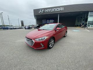 Used 2017 Hyundai Elantra 4dr Sdn Auto GL,MAGS,CAMERA,A/C,CRUISE,BLUETOOTH for sale in Mirabel, QC