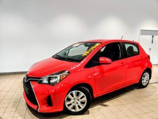 Used 2015 Toyota Yaris LE AUTOMATIQUE ** JAMAIS ACCIDENTÉ** for sale in St-Eustache, QC