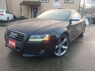 Used 2008 Audi A5 Quattro for sale in Kitchener, ON