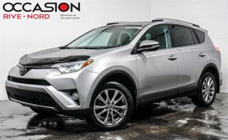 Used 2016 Toyota RAV4 Limited AWD CUIR+TOIT.OUVRANT+CAM.RECUL for sale in Boisbriand, QC