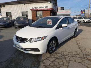 Used 2015 Honda Civic 4 portes boîte manuelle EX for sale in Sherbrooke, QC