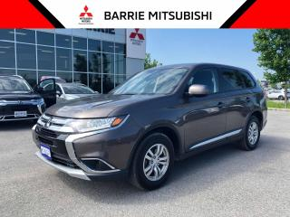 Used 2017 Mitsubishi Outlander ES AWC for sale in Barrie, ON