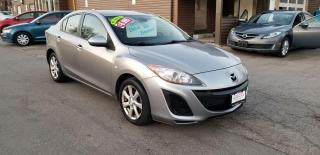 Used 2010 Mazda MAZDA3 BLUETOOTH / POWER OPTIONSTIONS for sale in Mississauga, ON