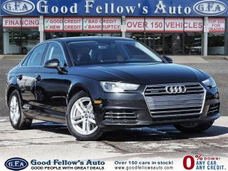 Used 2017 Audi A4 QUATTRO, LEATHER & POWER & HEATED SEATS, PAN ROOF for sale in Toronto, ON