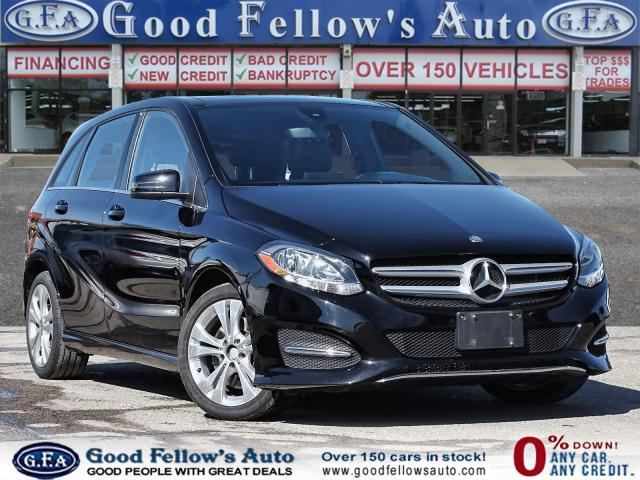 2015 Mercedes-Benz B250 4MATIC,NAV, REARVIEW CAMERA, PANROOF,LEATHER SEATS