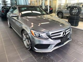 Used 2017 Mercedes-Benz C-Class C 300, ONE OWNER, 360 CAMERA, PANO ROOF, for sale in Edmonton, AB