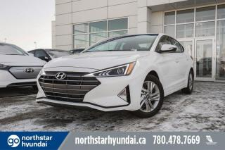 New 2020 Hyundai Elantra PREFERRED SUN & SAFETY: SUNROOF/APPLE CARPLAY/PROXY KEY/HEATED FEATURES for sale in Edmonton, AB