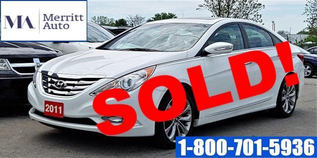 2011 Hyundai Sonata Limited w/Nav | 1 Owner| No Accidents| Loaded