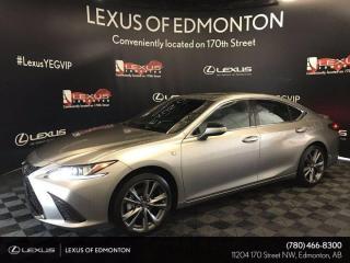 New 2020 Lexus ES 350 F Sport Series 1 for sale in Edmonton, AB