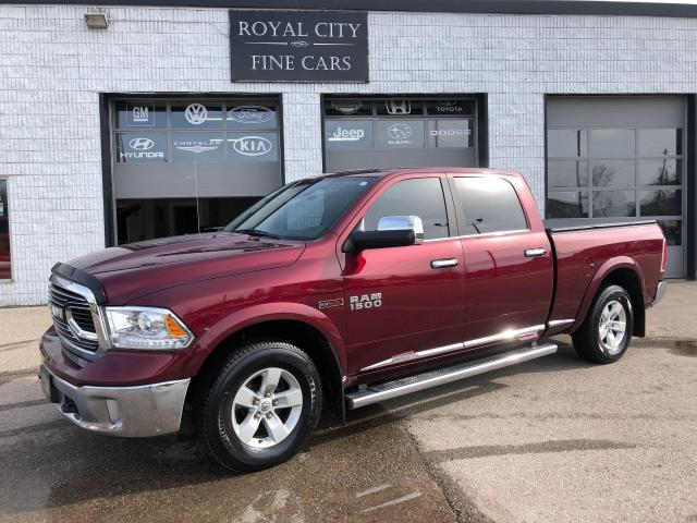 2017 RAM 1500 Limited Crew Cab 6.4ft Box Air Suspension