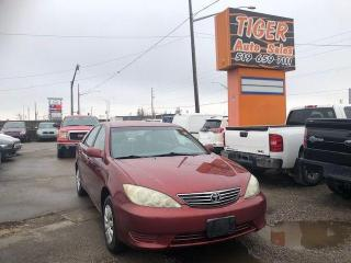 Used 2005 Toyota Camry LE**VERY CLEAN**4 CYLINDER**AUTO**CERTIFIED for sale in London, ON