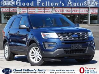 Used 2016 Ford Explorer 7 PASSENGRE, 4WD, REARVIEW CAMERA, POWER SEATS for sale in Toronto, ON