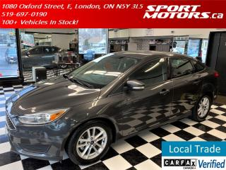 Used 2016 Ford Focus SE+Heated Seats & Steering+Camera+Bluetooth+A/C for sale in London, ON