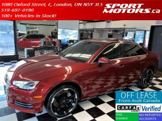 Used 2017 Audi A4 Quattro+New Tires+Xenons+HTDSteering+Accident Free for sale in London, ON