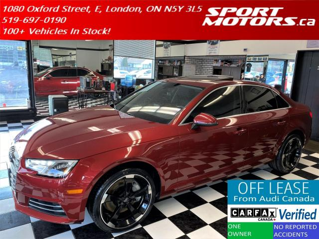 2017 Audi A4 Quattro+New Tires+Xenons+HTDSteering+Accident Free