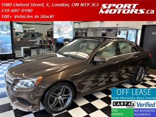 Used 2016 Mercedes-Benz E-Class E 300 4MATIC+PanoRoof+Camera+Accident Free for sale in London, ON