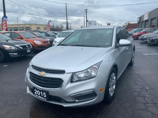 Used 2015 Chevrolet Cruze LT for sale in Hamilton, ON