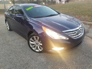 Used 2013 Hyundai Sonata SE- LEATHER, SUNROOF, NO ACCIDENT for sale in Mississauga, ON