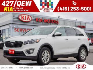 Used 2016 Kia Sorento LX AWD | Sensor | Cruise | Alloy | Bluetooth for sale in Etobicoke, ON