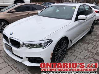 Used 2018 BMW 5 Series AWD,NAV,LEATHER,SUNROOF MPKG !!! for sale in Toronto, ON
