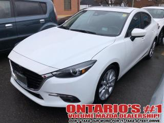 Used 2017 Mazda MAZDA3 LEATHER SEATING,SUN ROOF,BACKUP CAM !!! for sale in Toronto, ON