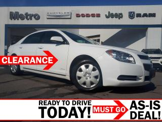 Used 2011 Chevrolet Malibu LT Plantinum AS-IS for sale in Ottawa, ON