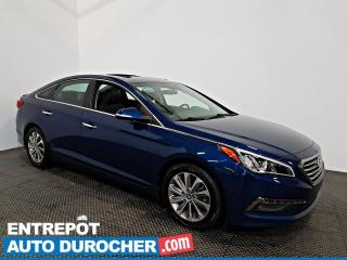 Used 2016 Hyundai Sonata 2.4L GLS Special Edition TOIT OUVRANT - A/C - CUIR for sale in Laval, QC