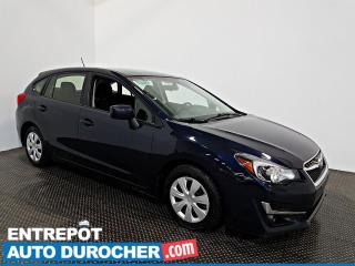 Used 2016 Subaru Impreza AWD AIR CLIMATISÉ - Caméra de Recul - for sale in Laval, QC