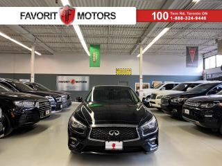 Used 2018 Infiniti Q50 3.0T LUXE AWD *CERTIFIED!* NAV SUNROOF LEATHER +++ for sale in North York, ON