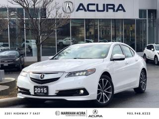 Used 2015 Acura TLX 3.5L SH-AWD w/Elite Pkg for sale in Markham, ON