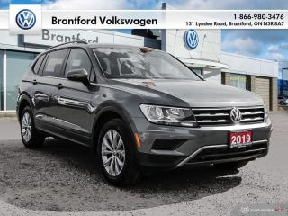 Used 2019 Volkswagen Tiguan Trendline 2.0 8sp at w/Tip 4M for sale in Brantford, ON