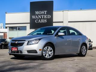 Used 2014 Chevrolet Cruze 1LT 1.4L TURBO|BLUETOOTH for sale in Kitchener, ON