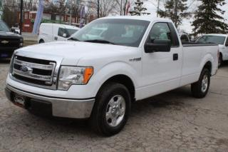 Used 2014 Ford F-150 XLT Reg Cab 8FT LONG BOX 5.0L ENGINE for sale in Mississauga, ON
