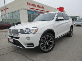 Used 2016 BMW X3 AWD 4dr xDrive28d | PUSH START | HEAD UP DISPLAY | for sale in Brampton, ON