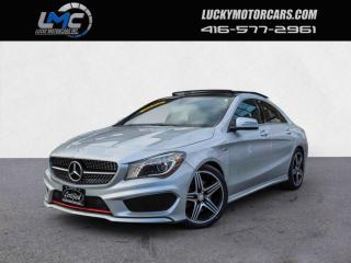 Used 2016 Mercedes-Benz CLA-Class CLA250 4MATIC AMG SPORT PERFORMANCE PKG-PANOROOF-BACKUP CAM for sale in Toronto, ON