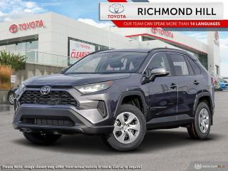 New 2020 Toyota RAV4 LE AWD  - Heated Seats - $102.76 /Wk for sale in Richmond Hill, ON