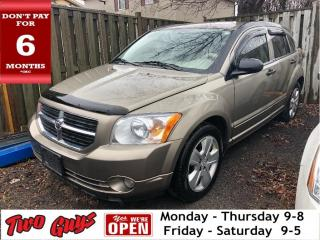 Used 2008 Dodge Caliber SXT | Local Trade In | Auto | Alloys | AS IS for sale in St Catharines, ON
