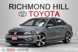 Used 2016 Volkswagen Jetta Sedan GLI - DSG - Rare Beauty!!! for sale in Richmond Hill, ON