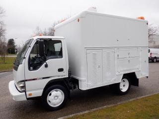 Used 2007 GMC W5500 14 Foot Cube Van Box With Workshop  And Shelving for sale in Burnaby, BC