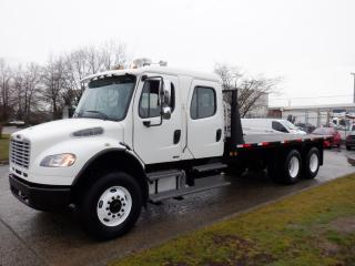 Used 2008 Freightliner M2106 Crew Cab 20 Foot Flat Deck Diesel With Air Brakes for sale in Burnaby, BC