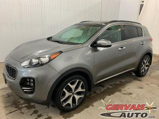 Used 2018 Kia Sportage SX Turbo AWD GPS Cuir Toit Panoramique Mags *Traction intégrale* for sale in Trois-Rivières, QC