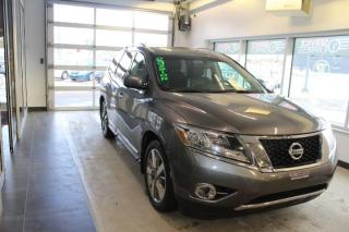 Used 2016 Nissan Pathfinder Platinum AWD GPS-TOIT-CAMÉRAS for sale in Lévis, QC