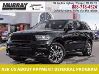 Used 2019 Dodge Durango GT *No Accidents   AWD   NAV   Sunroof* for sale in Winnipeg, MB