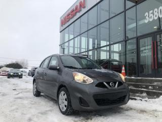 Used 2017 Nissan Micra SV à hayon 4 portes BA for sale in Lévis, QC